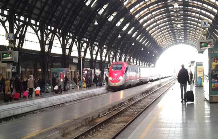 Train station Transfer to Milan hospitals